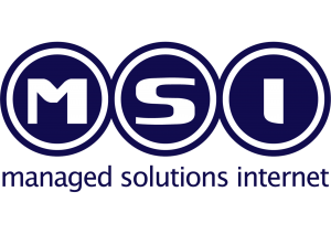 MSI managed solutions internet Logo